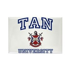 TAN University Rectangle Magnet