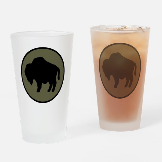 92nd Infantry Division Drinking Glass