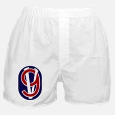 95th Infantry Division Boxer Shorts