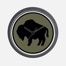 92nd Infantry Division Wall Clock