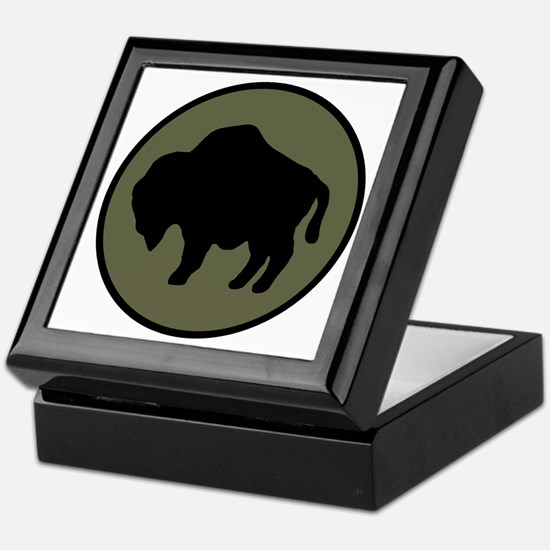92nd Infantry Division Keepsake Box
