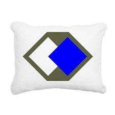 96th Infantry Division Rectangular Canvas Pillow