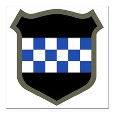 """99th Infantry Division Square Car Magnet 3"""" x 3"""""""