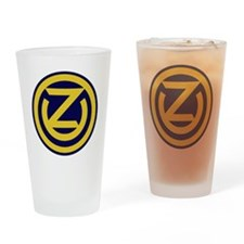 102nd Infantry Division Drinking Glass