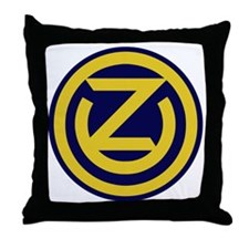 102nd Infantry Division Throw Pillow