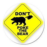 Bears Round Car Magnets