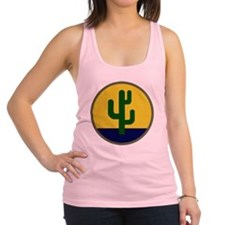 103rd Infantry Division Racerback Tank Top