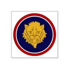 """106th Infantry Division Square Sticker 3"""" x 3"""""""