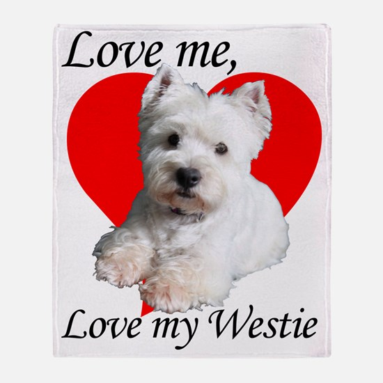 lovemywestie2011 Throw Blanket
