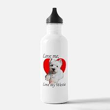 lovemywestie2011 Water Bottle