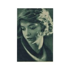 Lillian Gish 1921 Rectangle Magnet