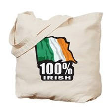 100%-IRISH Tote Bag