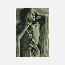Gloria Swanson 1925 Rectangle Magnet