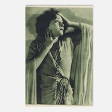 Gloria Swanson 1925 Postcards (Package of 8)