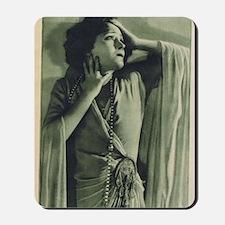 Gloria Swanson 1925 Mousepad
