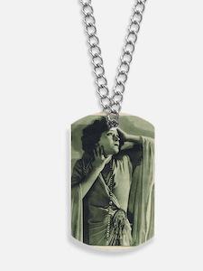 Gloria Swanson 1925 Dog Tags