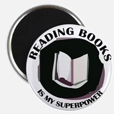 reading books is my superpower Magnet