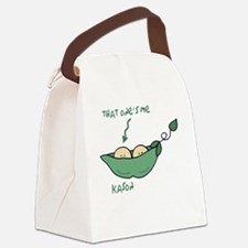 peapod2 that ones me kason Canvas Lunch Bag