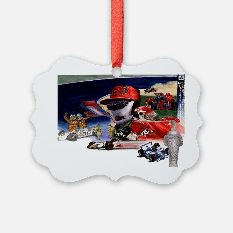 indy racing Ornament