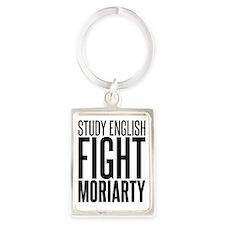 English moriarty Portrait Keychain