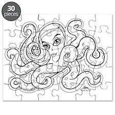 octopus b/w Puzzle