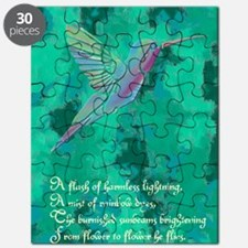 Humming Bird journal Puzzle