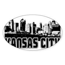 Kansas City Skyline Decal