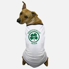 UnofficiallyIrish_shirt_green Dog T-Shirt