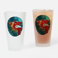 Ray Gun! Drinking Glass