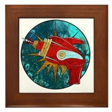 Ray Gun! Framed Tile