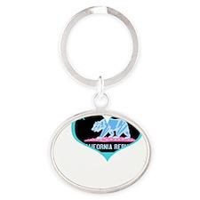 IHC2neg Oval Keychain