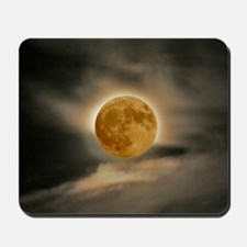 large MOON poster Mousepad