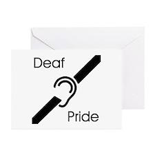 Deaf Pride Greeting Cards (Pk of 10)