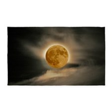 large MOON poster 3'x5' Area Rug