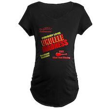 funny ukulele madness uke d T-Shirt