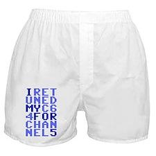 I Retuned My C64 Boxer Shorts