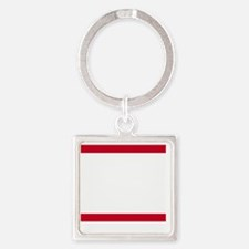 rep atl Square Keychain