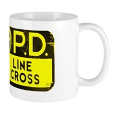 NOPD SIGN blackgold zazzle.gif Mug