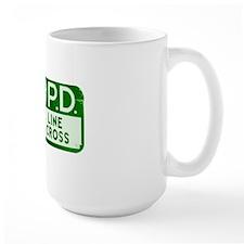 NOPD SIGN green zazzle.gif Mug