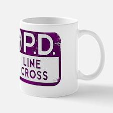 NOPD SIGN purple zazzle.gif Mug