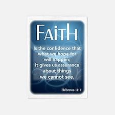 Hebrews 11-1a.gif 5'x7'Area Rug