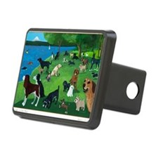 Sunday in the Park card Hitch Cover