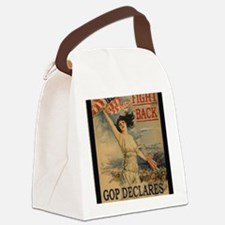 fight back cafe press Canvas Lunch Bag