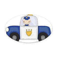 SCRAPCRUISER Oval Car Magnet