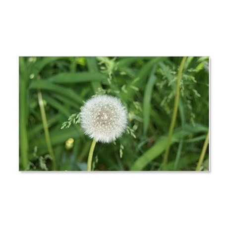 dandelion 20x12 Wall Decal