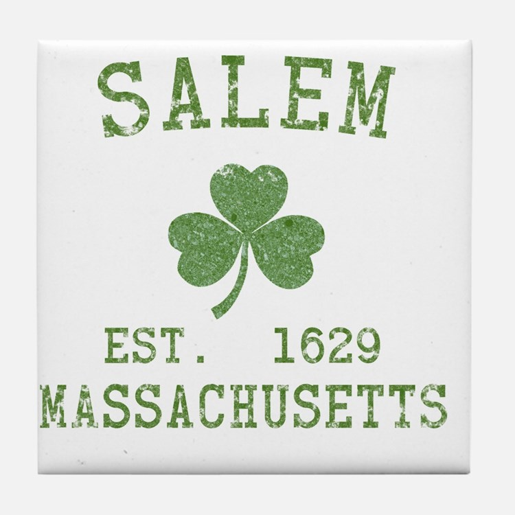 salem-ma Tile Coaster