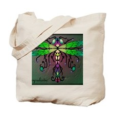 Caveglow Dragonfly panel Tote Bag
