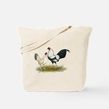 OE Bantam Blue Silver Wheaten Tote Bag