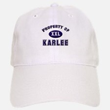 Property of karlee Cap