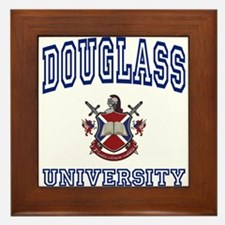 DOUGLASS University Framed Tile